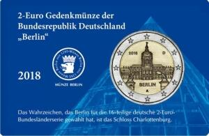"2- Euro- Coin- Card ""Berlin"""